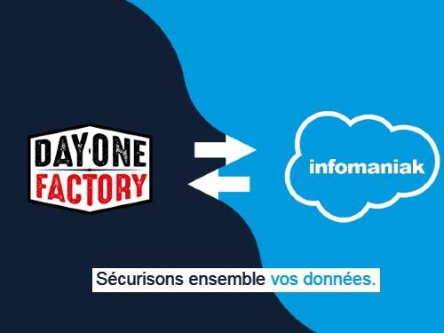 DayOneFactory Partenaire Infomaniak